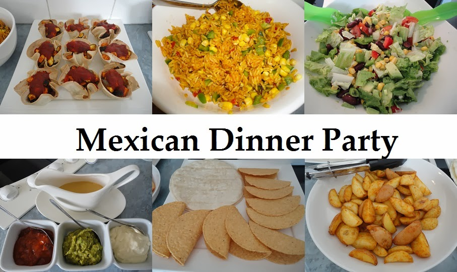 Mexican dinner party7g top with a few jalapenosfold in half and grill or fry in a pan this mexican style dinner is a welcome change to mealtime try it tonight forumfinder Choice Image