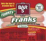 BAR S TURKEY JUMBO FRAN