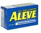 ALEVE TABLETS 24 CT