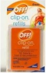 OFF CLIP-ON REFILL 2CT
