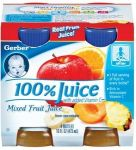 GBR JUICE MIXED FRUIT 4-4OZ